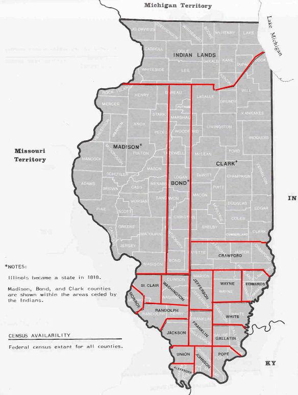 ThorntonIllinois - Illinois on the map of usa