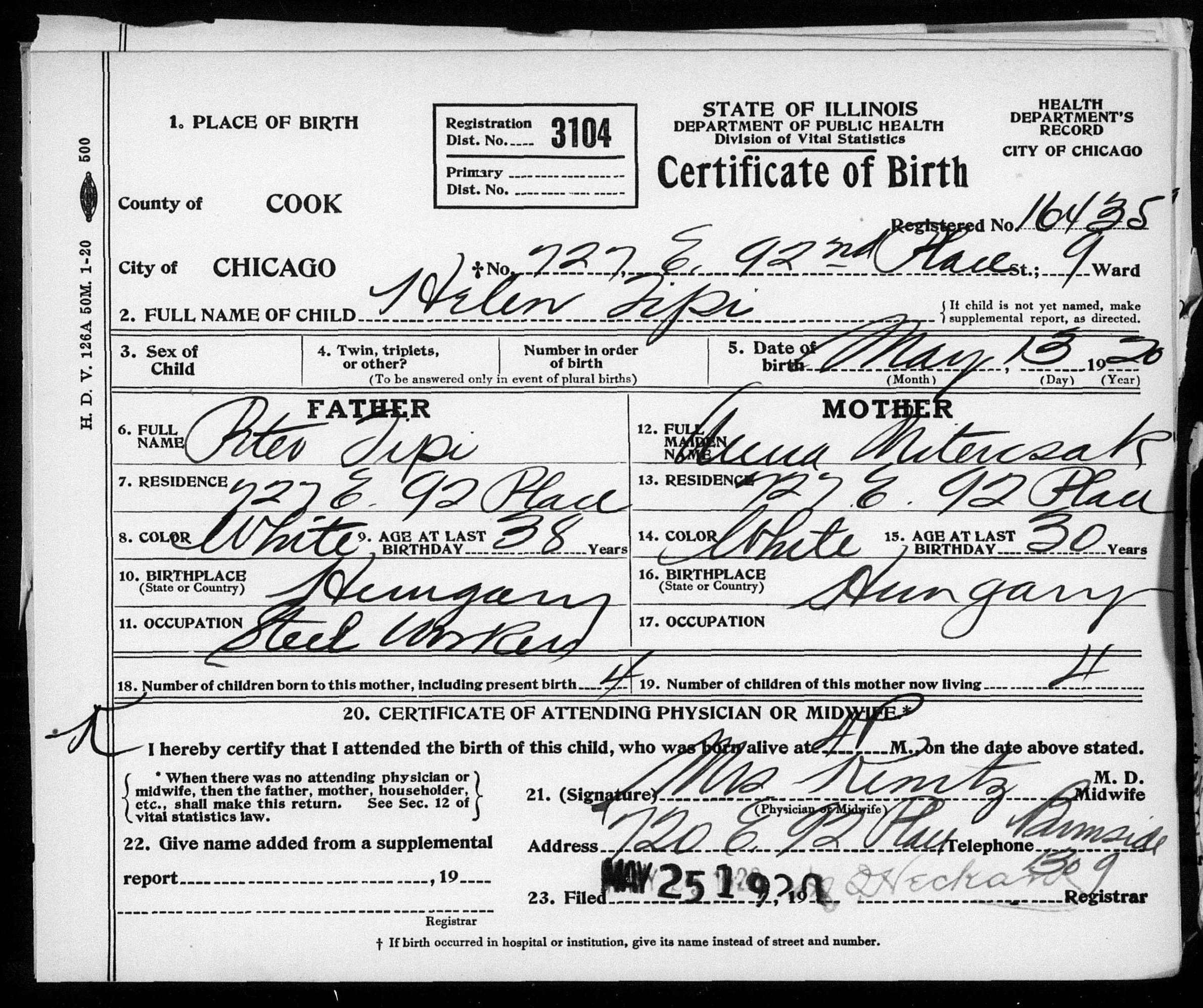 Helen m tipi samko cook county birth certificates 1878 1922 httpsfamilysearchpalmm931th 266 11673 31942 0cc1462519wc1648011 aiddatafo Gallery