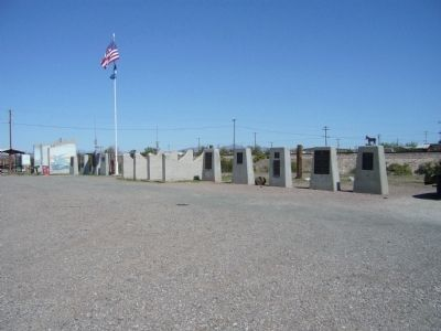 Monument Row, Bouse, Arizona Photo, Click for full size