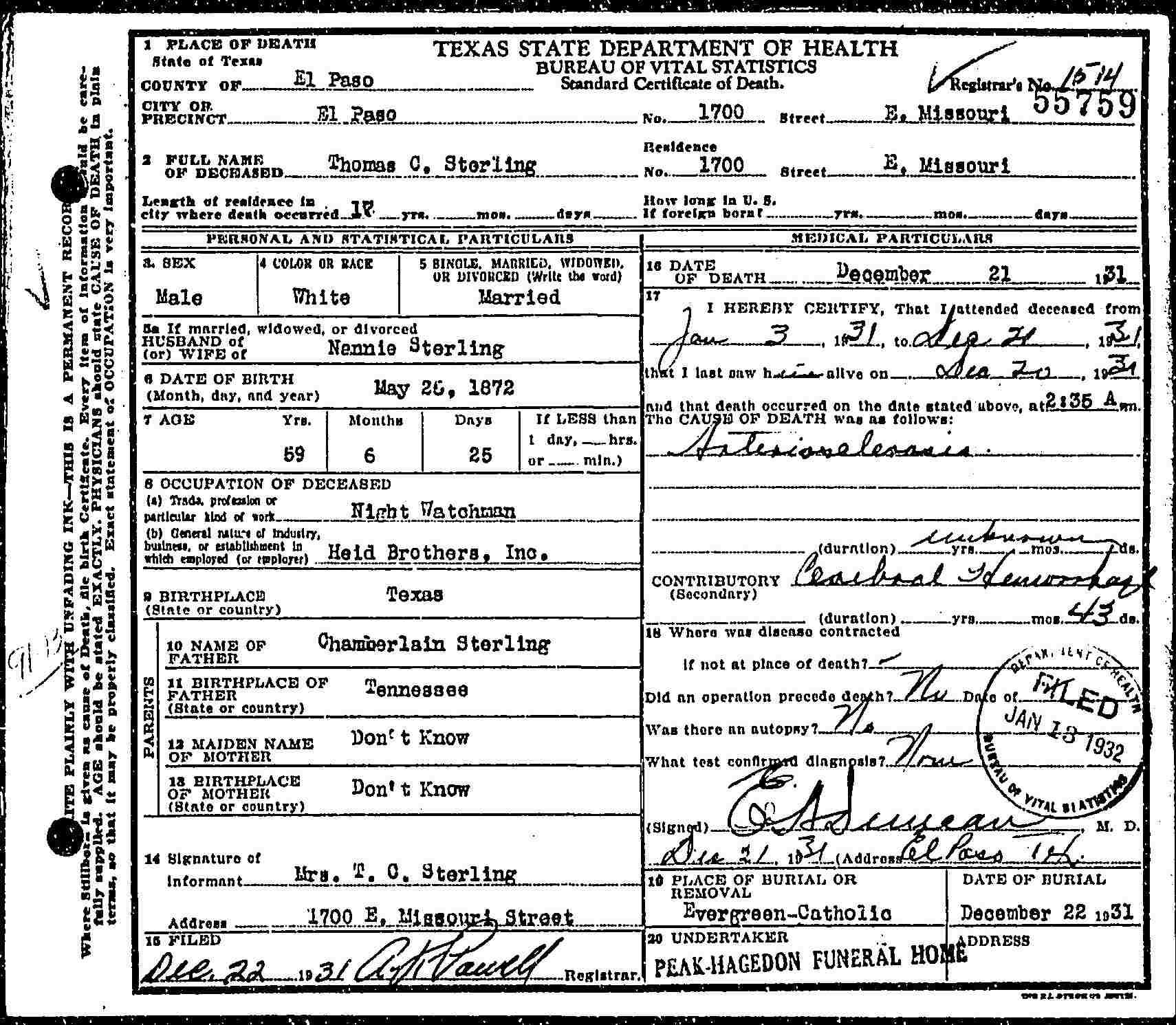 El paso tx birth records